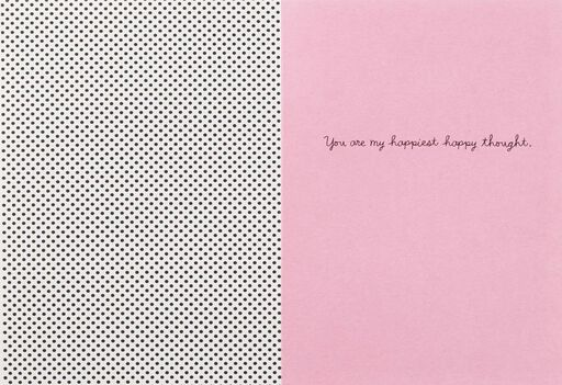 Happiest Happy Thought Flamingos Thinking of You Card,