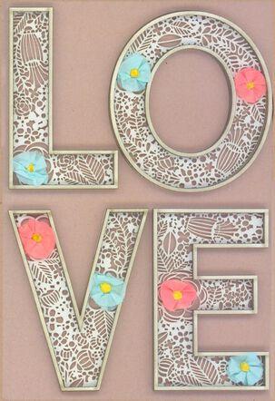 Something Beautiful Wedding Card