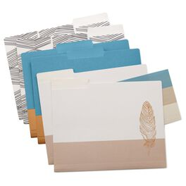 Natural & Authentic File Folders—Set of 6, , large