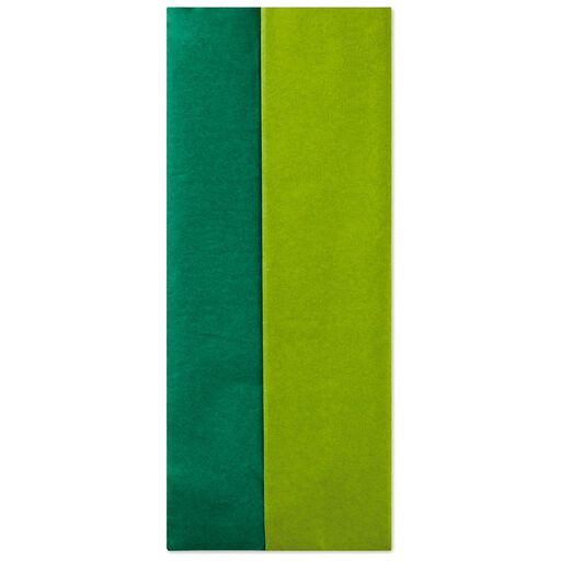 Green And Paper tissue paper   gift wrapping   hallmark