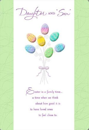 Daughter and Son-in-Law Easter Card