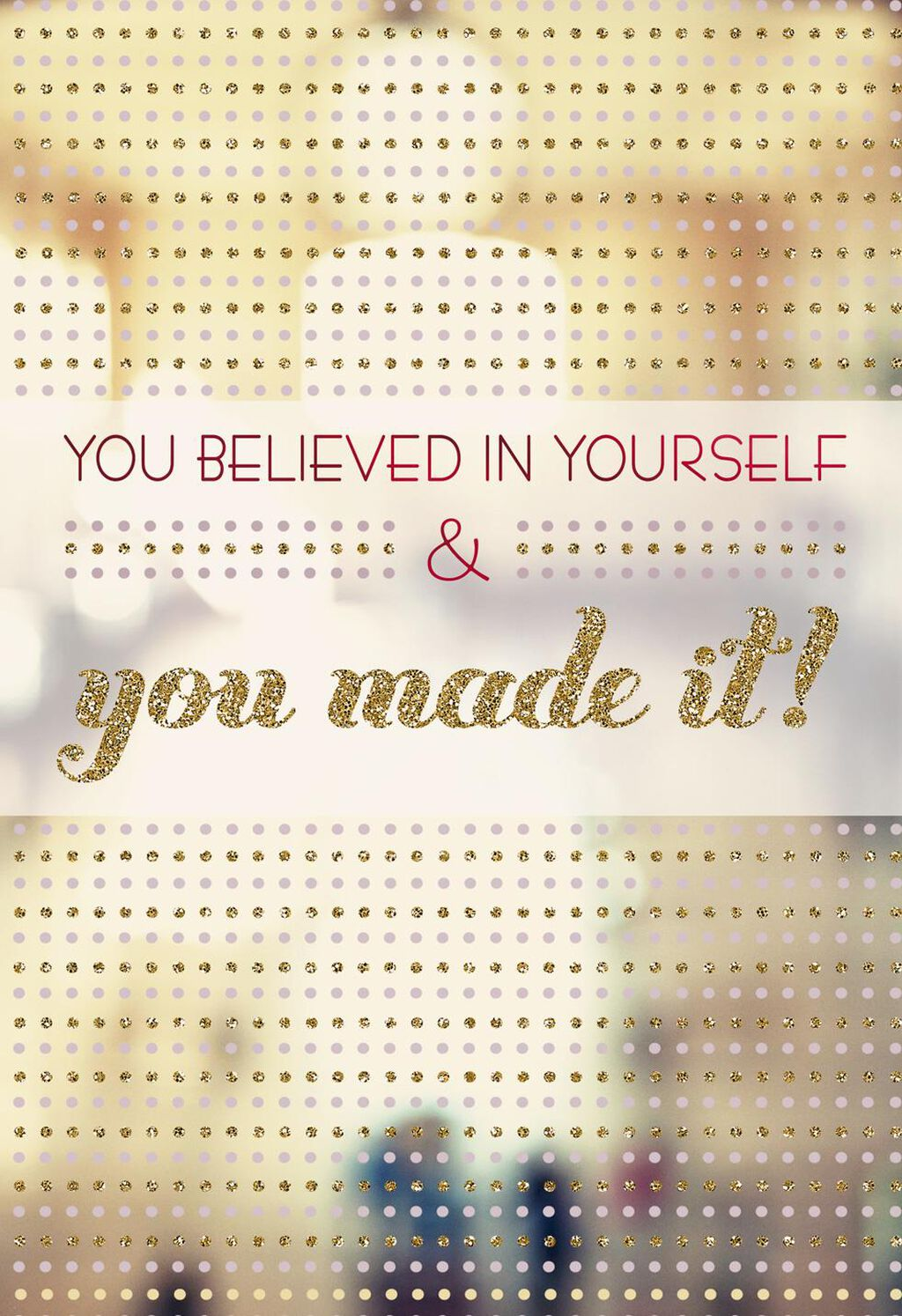 You Made It Congratulations Card Greeting Cards Hallmark