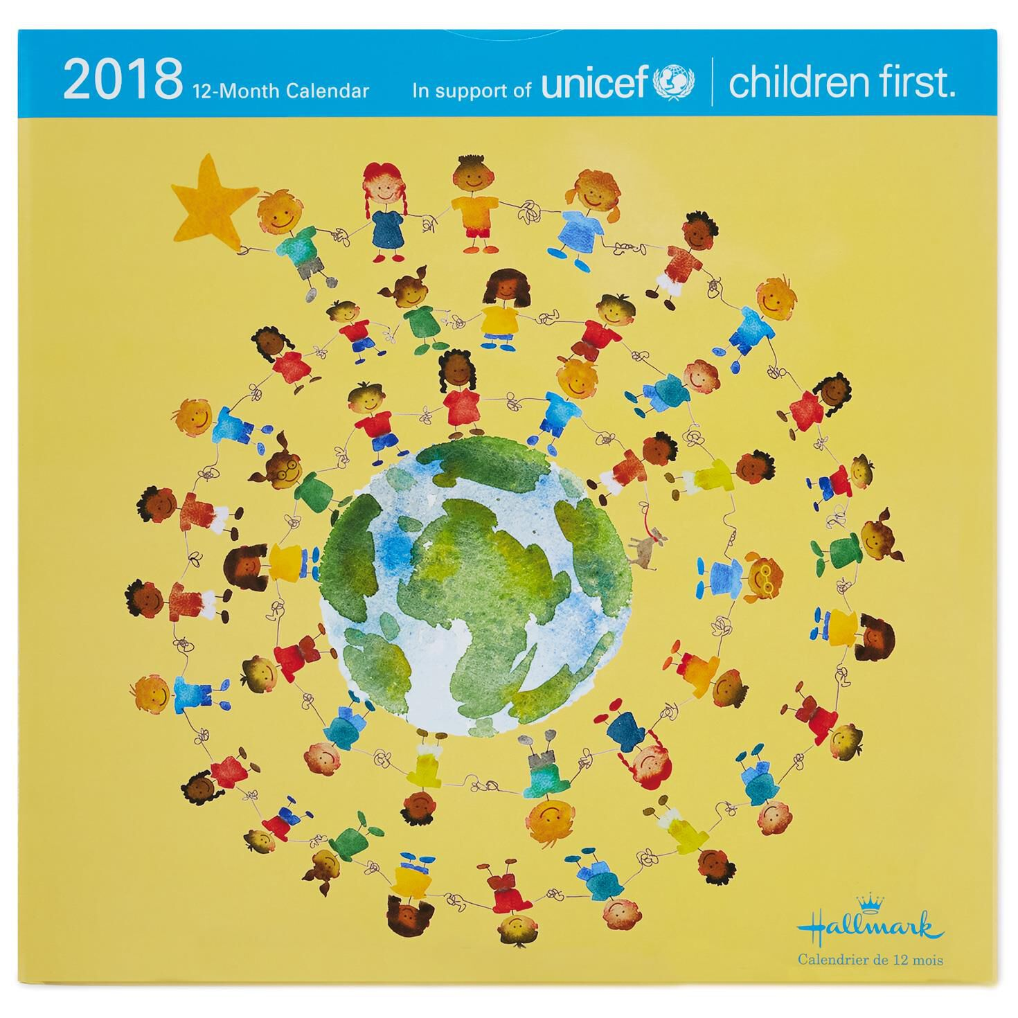 UNICEF 2018 Wall Calendar, 12-Month - Calendars - Hallmark