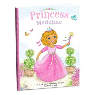 Princess Personalized Book,
