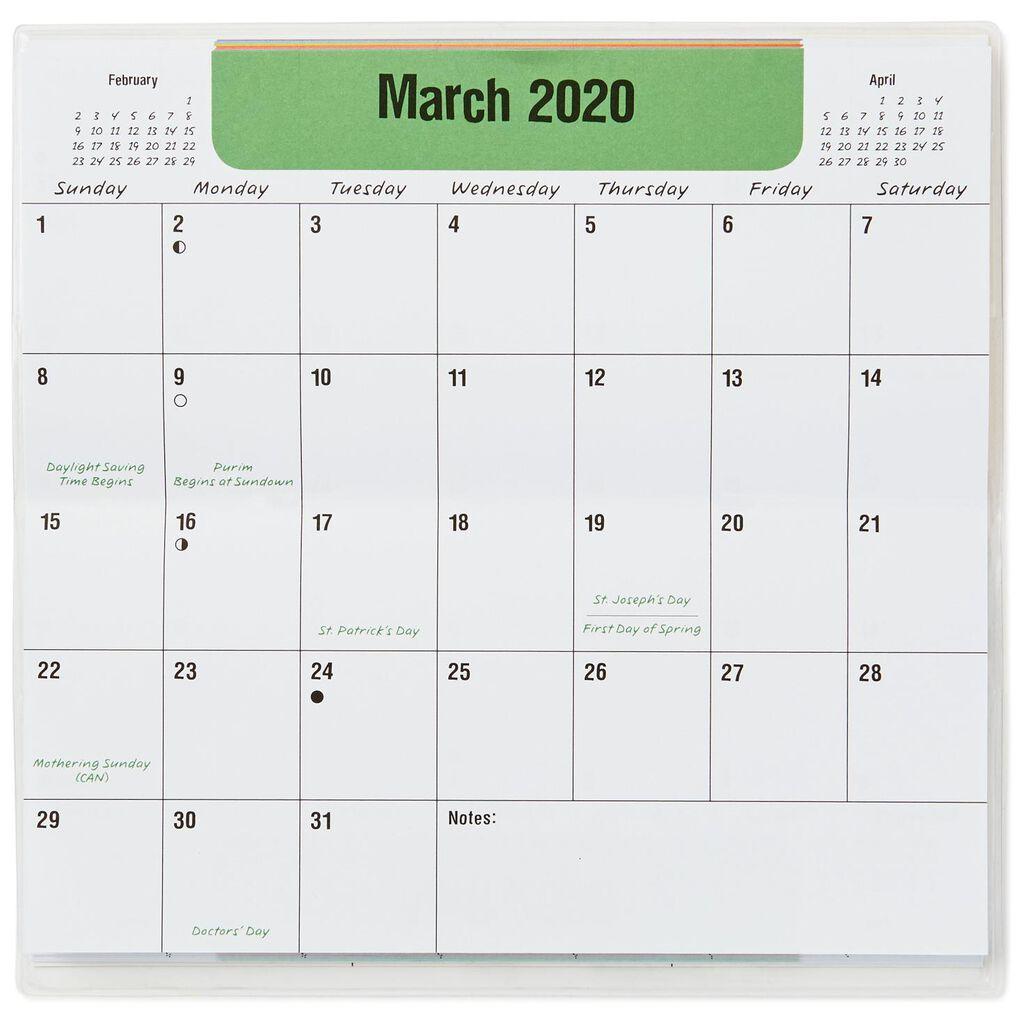maxine monthly calendar planner 2019 2020 calendars hallmark