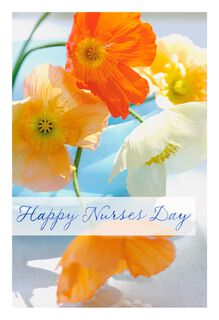 Giving a Little Back to You Nurses Day Card,
