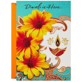 The Festival of Lights is Here Diwali Card, , large
