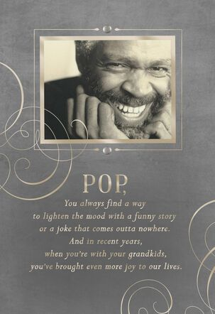 Love You, Pop Father's Day Card