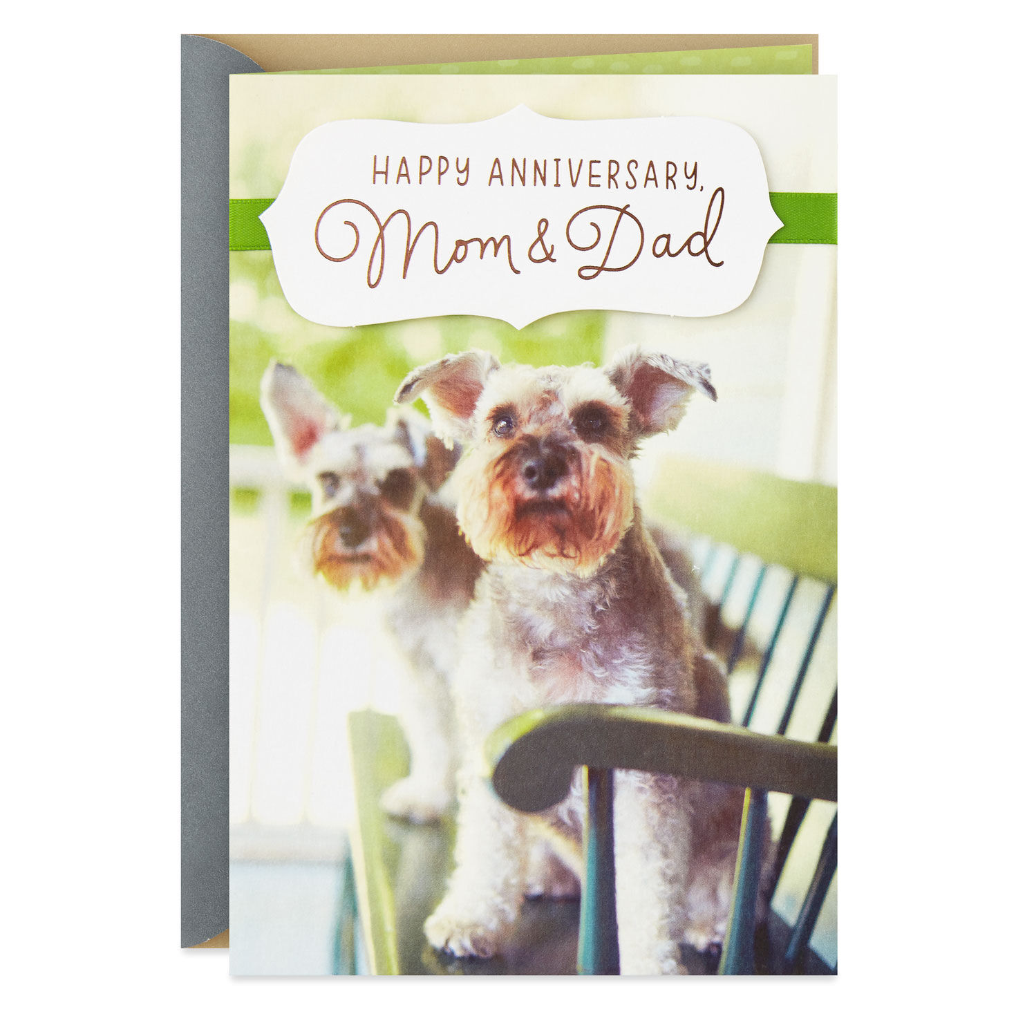 Birthday card from the dog dogs Pet Personalised card for Dad Mum Daddy Mummy
