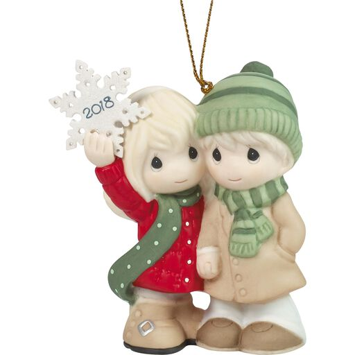 Precious Moments Our First Christmas Together 2018 Ornament,
