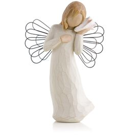 Willow Tree® Thinking of You Angel Figurine, , large