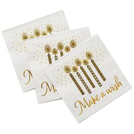 Make A Wish Cocktail Napkins, Pack of 16, , large