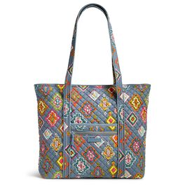 Vera Bradley Iconic Vera Tote Bag in Painted Medallions, , large