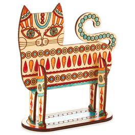 Cat Coloring Wooden Art Kit, , large