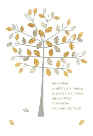 Healing Wishes Sympathy Card