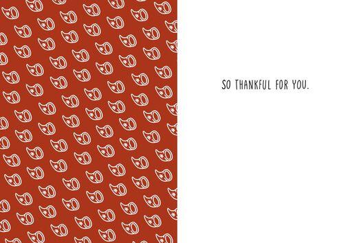 Cornucopia of Awesome Thanksgiving Card,
