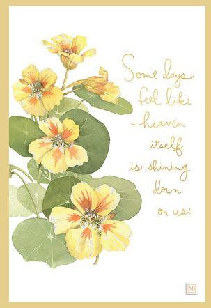 May Heaven Shine Down Marjolein Bastin Encouragement Card