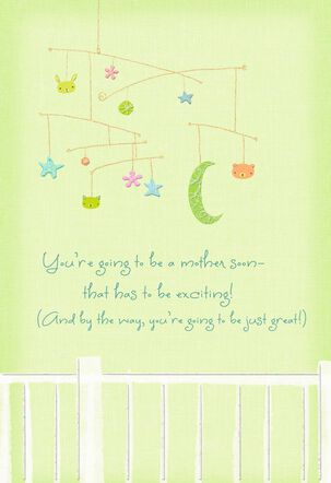 Baby Mobile Mother's Day Card for Mom-to-be