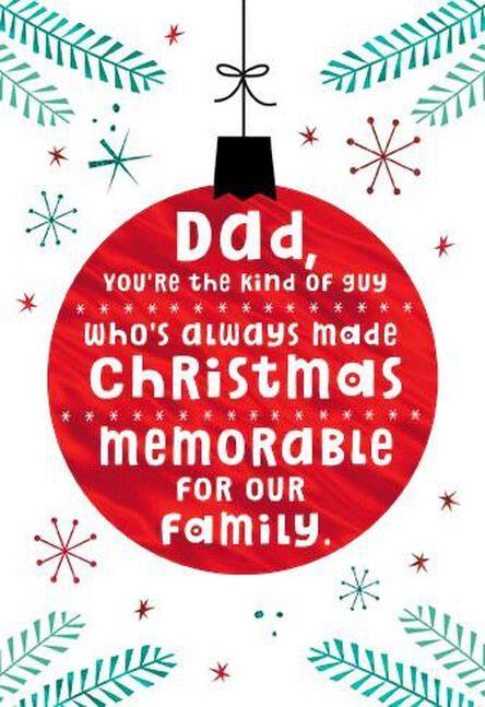 dad who is now grandpa christmas card - Grandpa For Christmas
