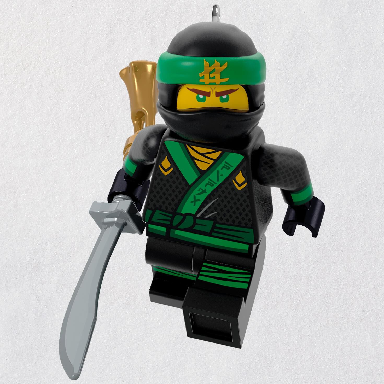 the lego ninjago movie lloyd ornament keepsake ornaments hallmark