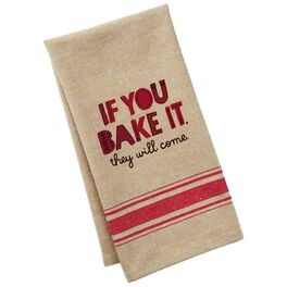 Bake It Cotton Tea Towel, , large