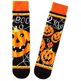 Jack-O'-Lantern Toe of a Kind Socks, , large