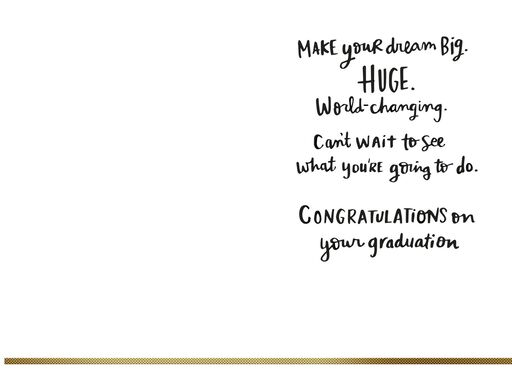 Mickey Mouse Dream It, Do It Graduation Card,