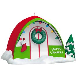 Happy Campers Ornament, , large