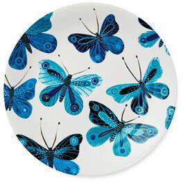 Butterflies Dessert Plate, , large