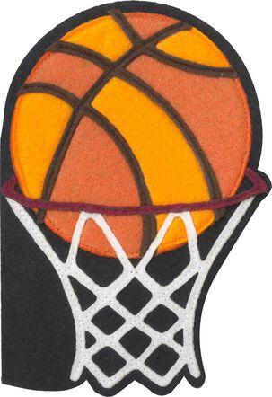 Basketball Felt Musical Birthday Card