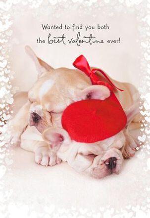 Best Valentine Dogs Valentine's Day Card