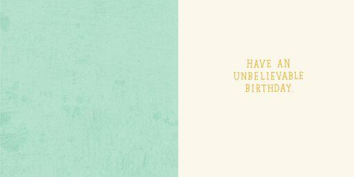 Urban Legend Birthday Card,