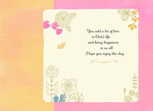 Enjoy the Day, Mother's Day Card for Step-Mom,