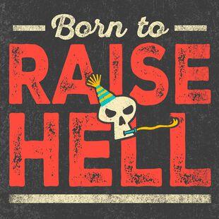 Bad To The Bone Musical Birthday Card