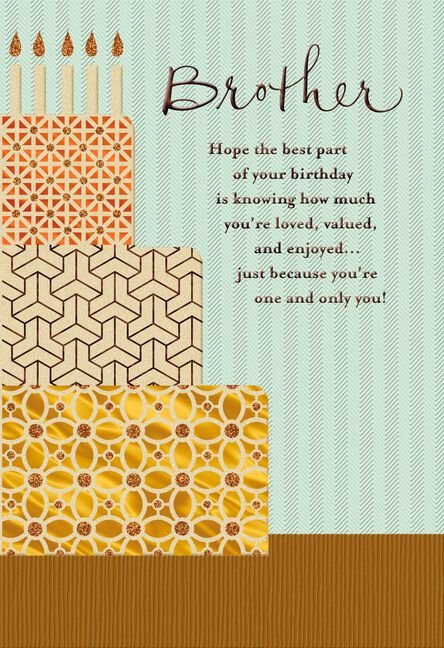 Youre A Blessing Religious Birthday Card For Brother Greeting