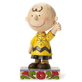 Jim Shore Good Man, Charlie Brown Figurine, , large