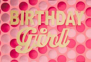 Polka Dot Power Birthday Card