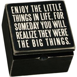 Primitives by Kathy Little Things Box Sign, , large