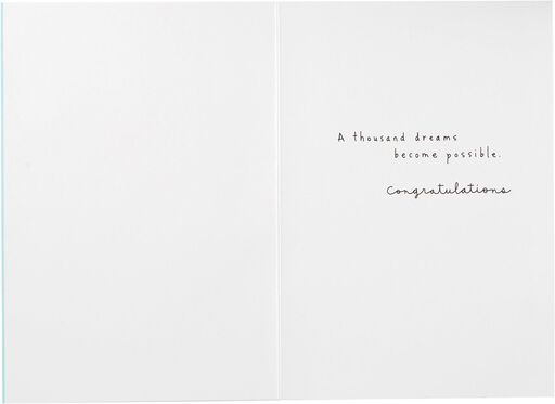 A Thousand Possible Dreams Wedding Card,