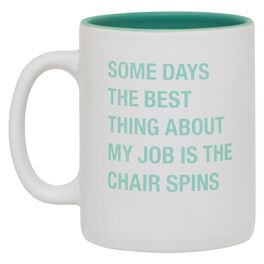 About Face Best Thing About My Job Mug, 16 oz., , large