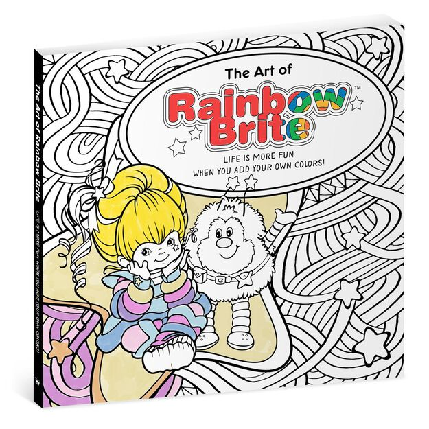 the art of rainbow brite coloring book - Coloring Books