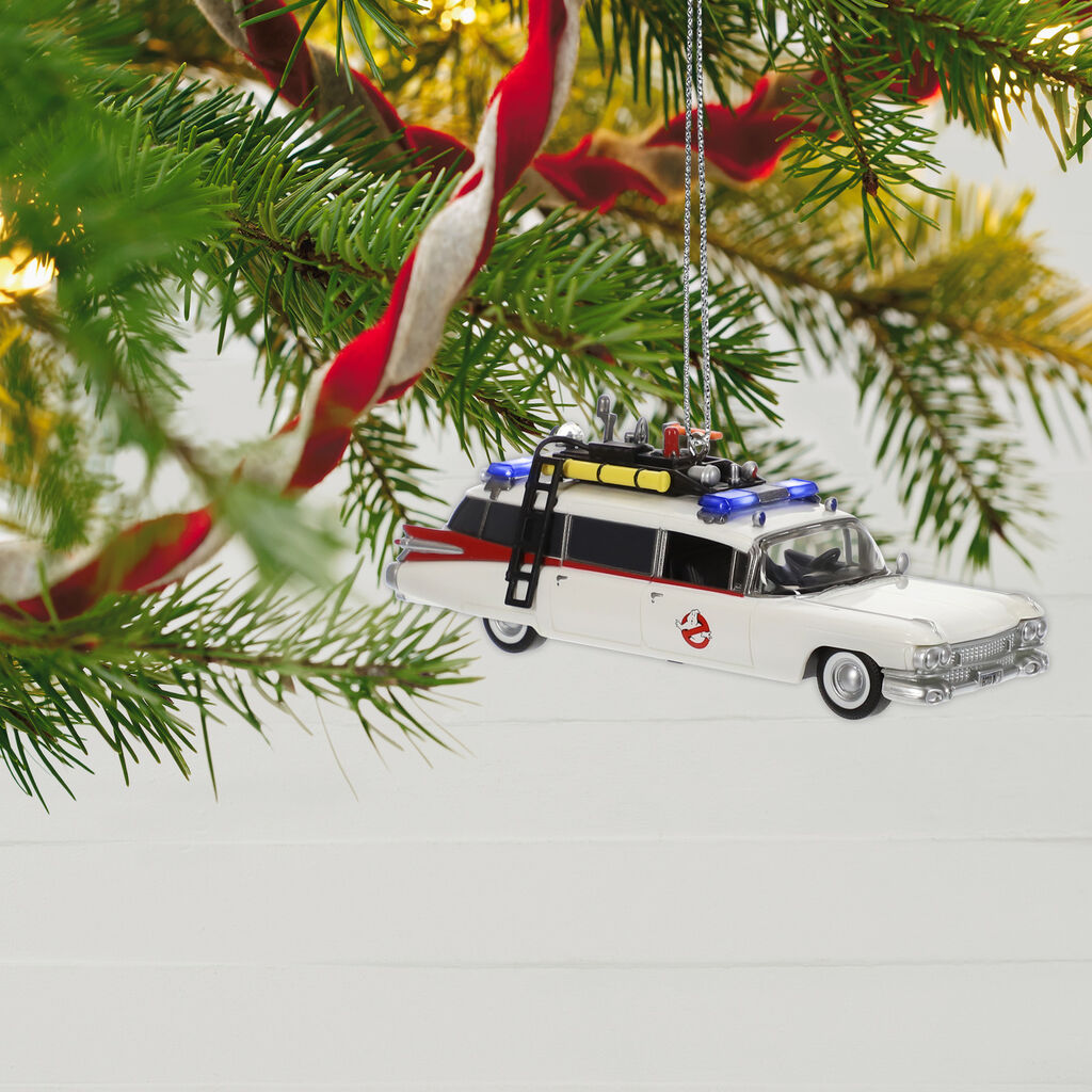 Ghostbusters Ecto 1 Ornament With Light And Sound Keepsake