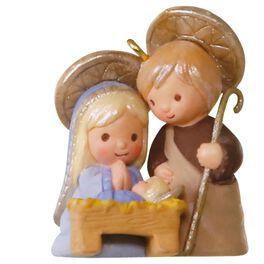 Li'l Holy Family Mini Ornament, , large