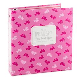 Precious Moments® Baby Girl's Baby Book and Sticker Calendar Album, , large