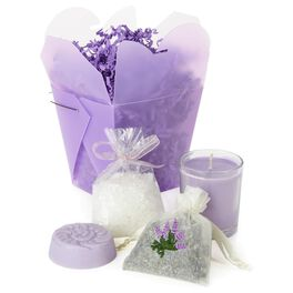 Sonoma Lavender Take-Out Box & Gift Set, , large