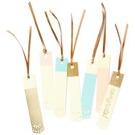 Pastel Die-Cut Assorted Gift Tags, Pack of 7, , large