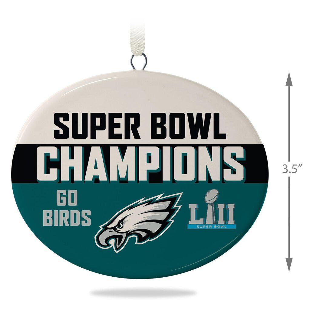 7e9cee601f1 Philadelphia Eagles Super Bowl LII Commemorative Ornament - Keepsake  Ornaments - Hallmark