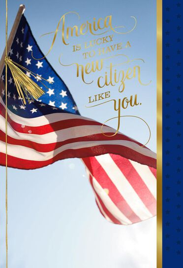Congratulations card for your american citizenship greeting cards congratulations card for your american citizenship m4hsunfo
