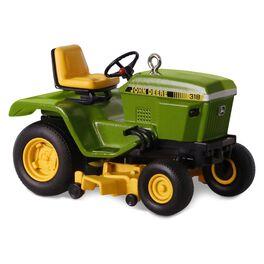 John Deere 318 Garden Tractor Ornament, , large