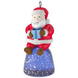 Sweet Li'l Santa Gumdrop Mini Ornament, , large